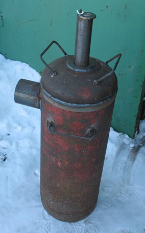 Bubafonja из газового баллона