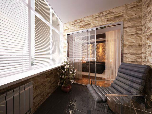 На балконе, также как во всем доме, должно быть красиво