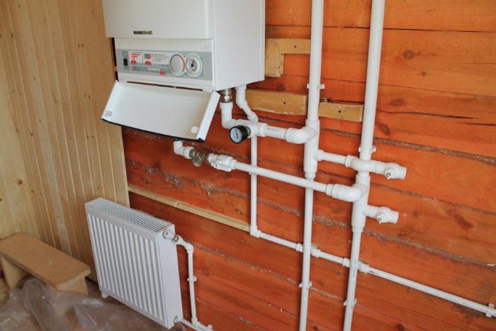 Смонтированная система отопления на основе электрического котла