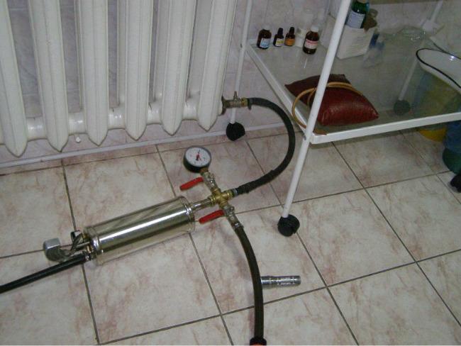 Оборудование для гидропневманической очистки