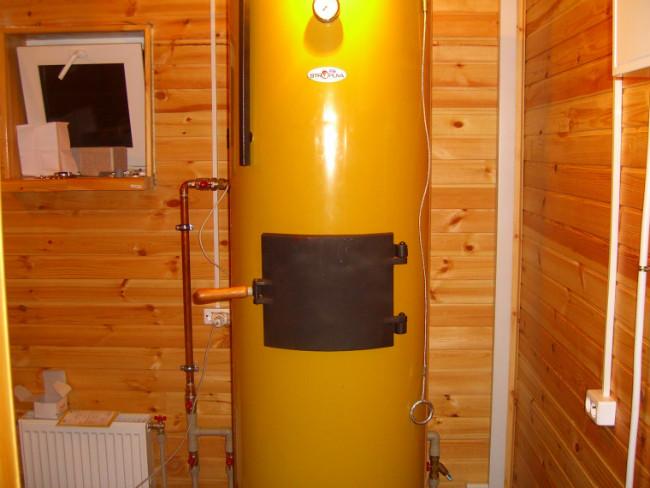 В помещение, где установлен отопительный агрегат обязательно должен поступать воздух