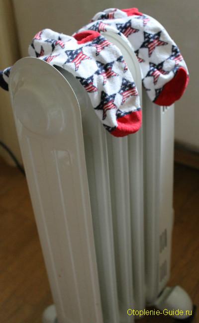Принцип работы масляного радиатора