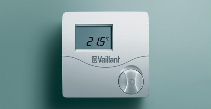 Комнатный регулятор температуры Vaillant VRT 50.