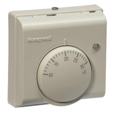 Механический термостат Honeywell. Может использоваться не только для управления котлами, но и циркуляционными насосами, электрообогревателями и клапанами.