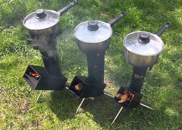 Ракетная печь «Огниво».
