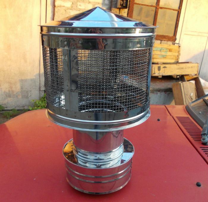Защитные сетки на дымоход кольцо розетка для дымохода