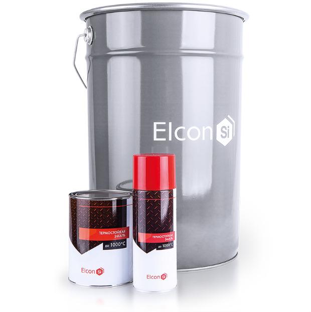 Антикоррозионная термокраска для печей Элкон (Elcon). Стоимость 390 руб/0,8 кг. Жаростойкость до +1000°С.