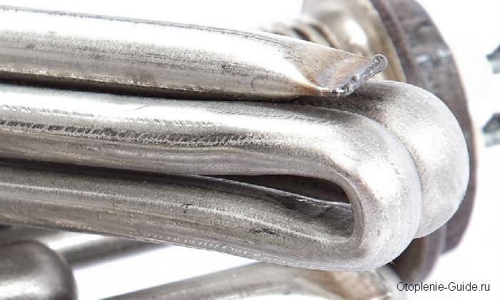 Металлическая трубка ТЭНа.