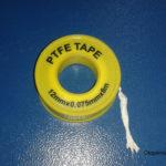 Как правильно наматывать фум ленту на резьбу?