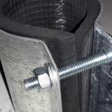 Хомут ремонтный для труб: конструкция и особенности применения